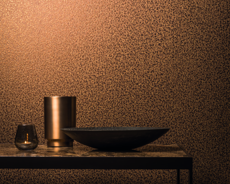 Capiz by Omexco, non-woven textile wallcovering