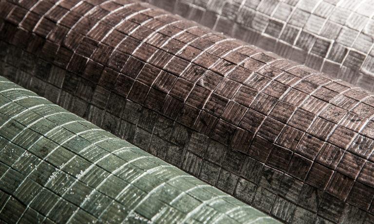 Monsoon by Arte, Mosaic pattern, close up