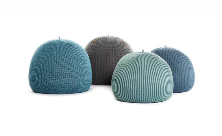 Bonnet Indoor poufs by Casalis