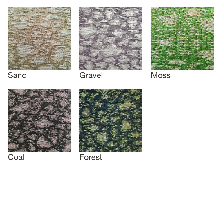 Earth pouf colors by Casalis