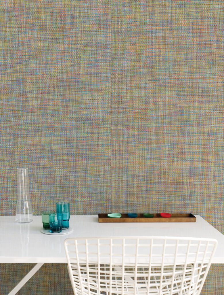 Mini Basketweave wall covering by Chilewich