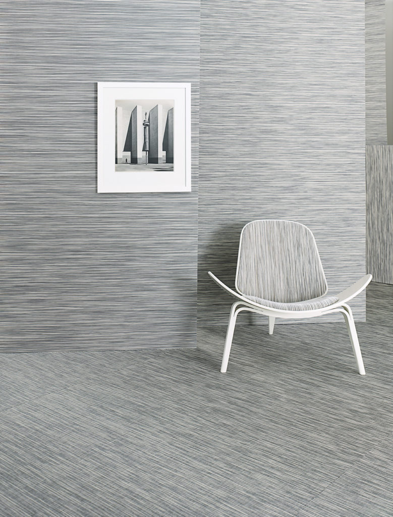 Rib Weave wall covering by Chilewich