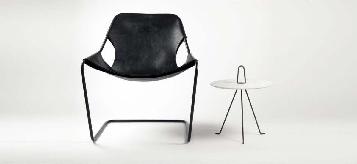Paulistano chair, Leather Black by Objekto