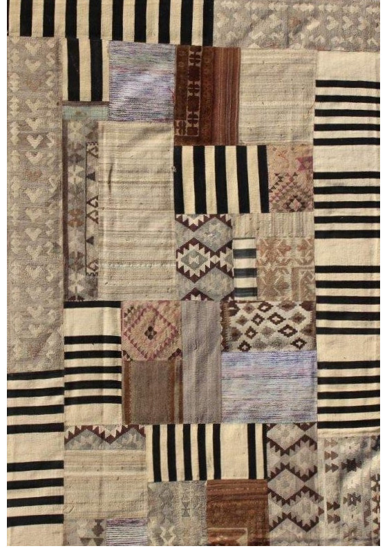 Handcrafted Patchwork Kilim