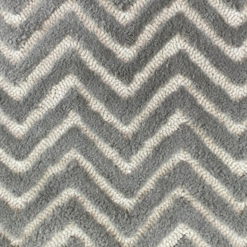 Tufted Herringbone in 2 Colours Cut & Loop by Concept Hand Tufting