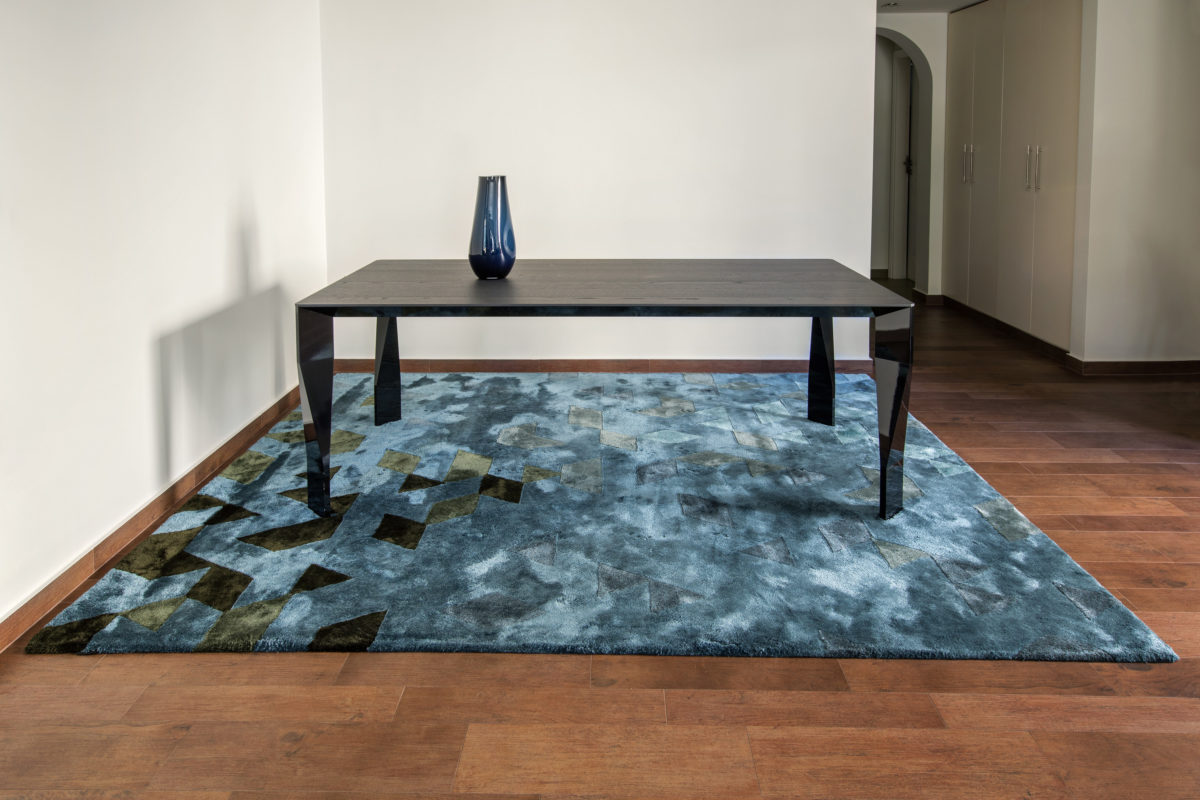One-off hand tufted carpet  by JoV