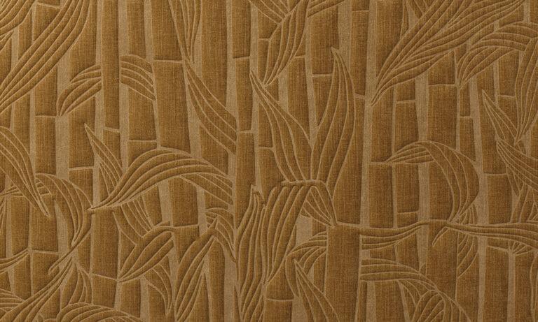 Bambusa, bronze close up
