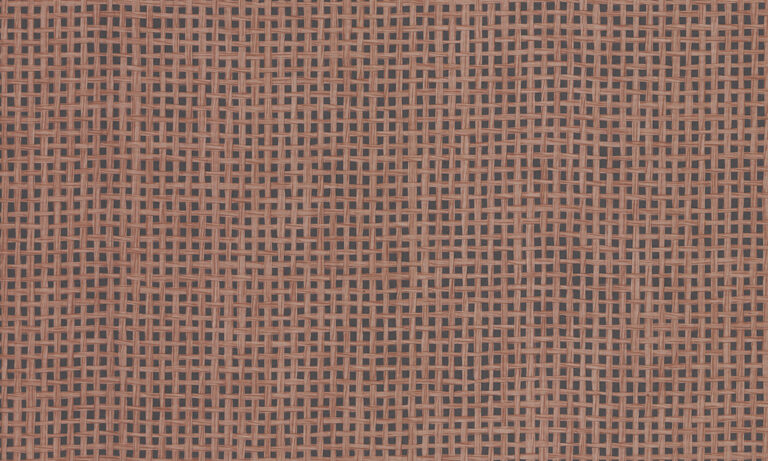 Waffle Weave, brick red close up