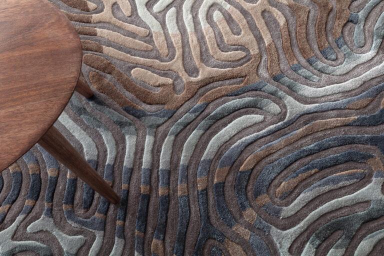 Parallel Brain, sea pine, close up