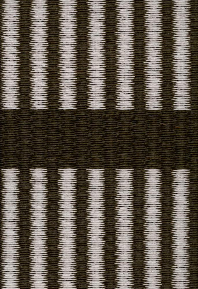 Cut Stripe, onyx white, paperyarn close up