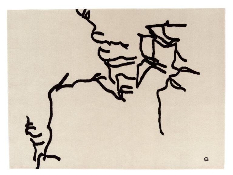 Dibujo Tinta, Chillida Collection by Nani Marquina, 1957, top view