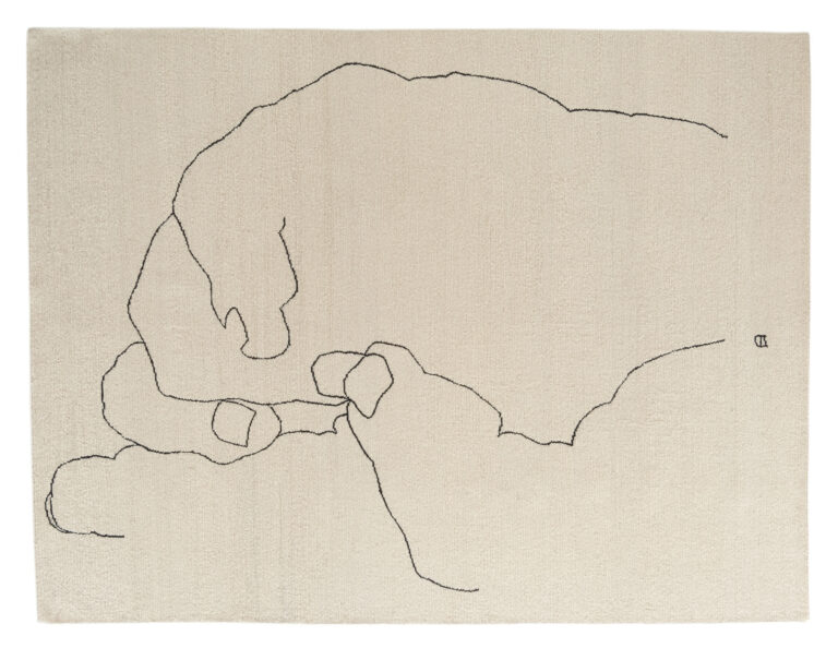 Mano 1993, Chillida Collection by Nani Marquina, top view