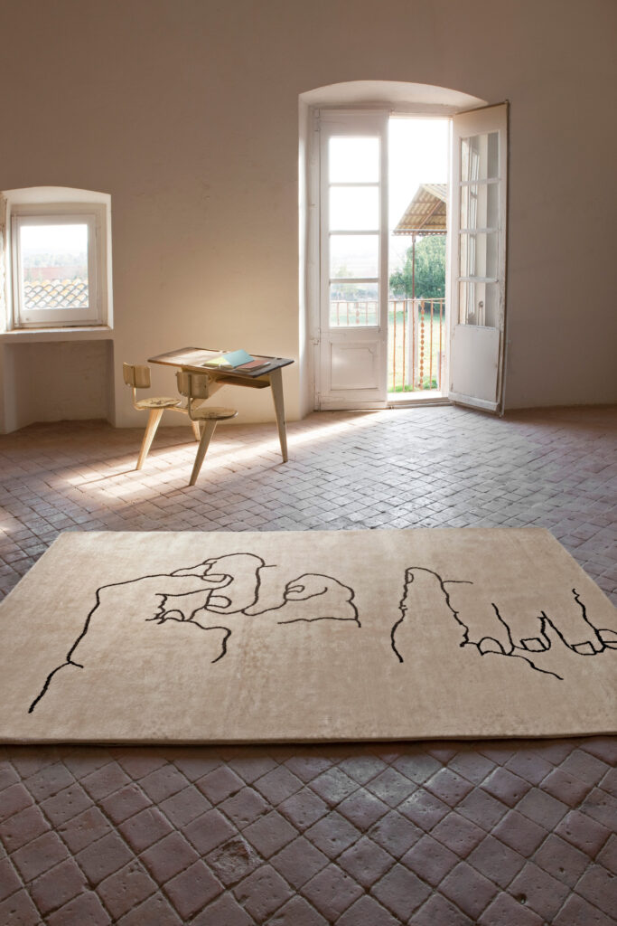 Mano 1995, Chillida Collection by Nani Marquina, ambient