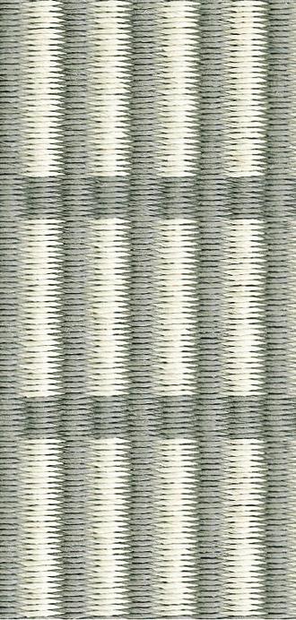 New York, stone white, paperyarn detail