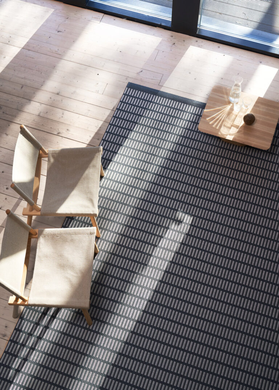 New York, graphite stone, living room interior