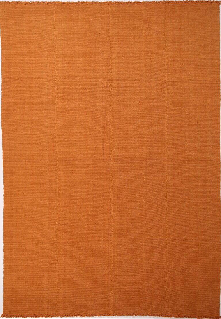 Mani, orange flatweave kilim