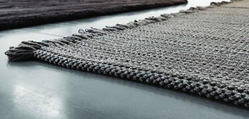 Hand knitted kilim by JoV
