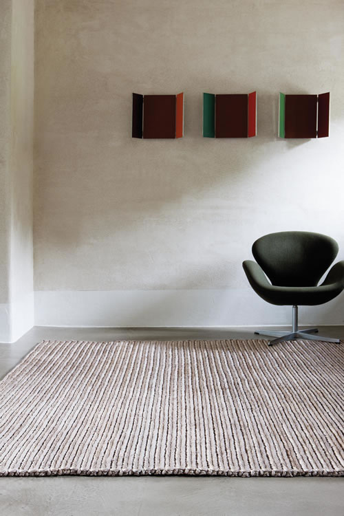 Abaca by Limited Edition - handwoven rug with an all abaca pile.