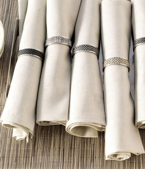 Sous plats, λινές πετσέτες και πετσετοθήκες της Chilewich | νέα σχέδια και χρώματα