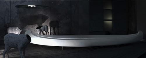 Canoa by Il Laboratorio dell' Imperfetto: the perfect bench