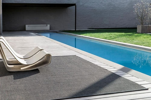 Poolside by Limited Edition, a woven quality with a pvc yarn pile