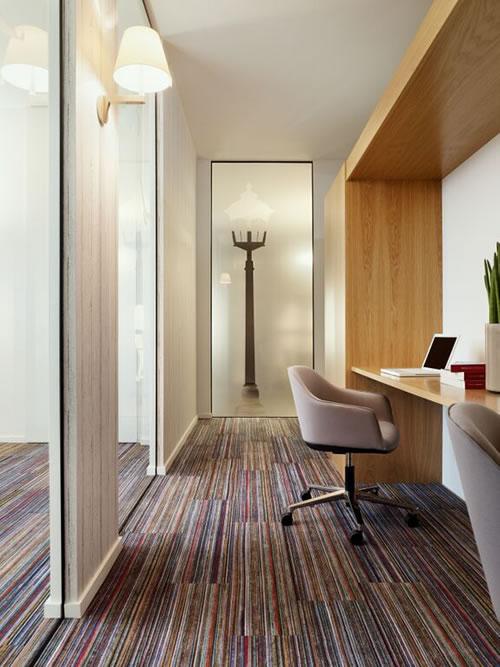 A new interpretation to textile floor design