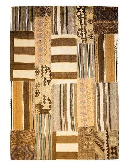 New trend: modern kilims in patches