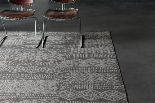 Outsider by Limited Edition, a woven rug outdoor by indoor as well, water and sun proof